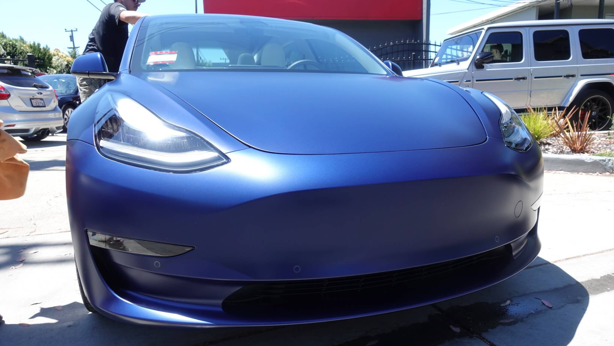 XPEL Stealth - Tesla Model 3 - All colors in matte paint ...